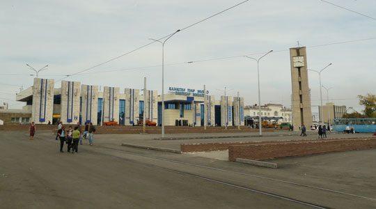Ж/Д вокзал Павлодара