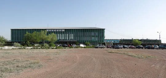 Ж/Д вокзал Балхаш-2
