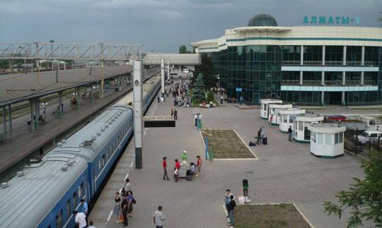 Ж/Д вокзал станции Алматы-1