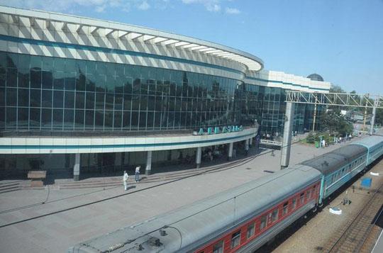 Ж/Д вокзал Алматы-1